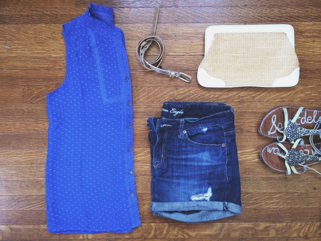 styling a dressy top for summer