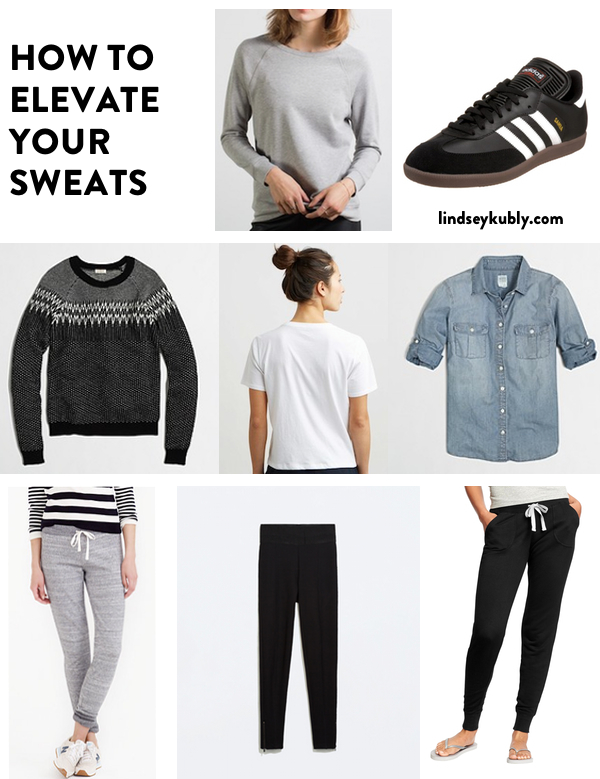how to elevate your sweats | Lindsey Kubly Blog