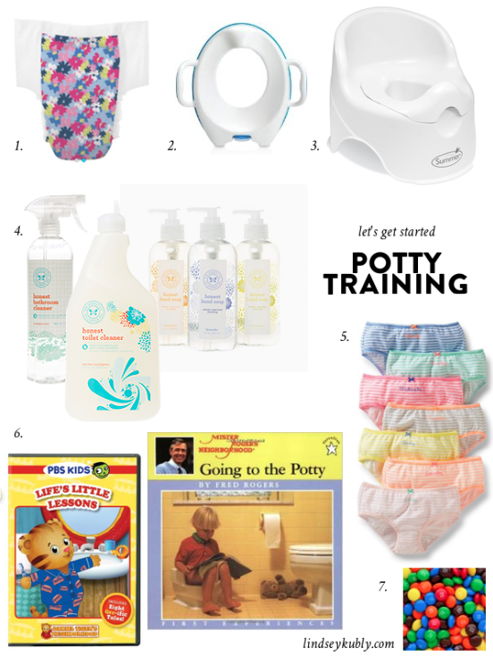 let's get started:  Potty Training