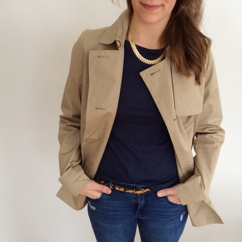 Everlane Trench | Lindsey Kubly Blog