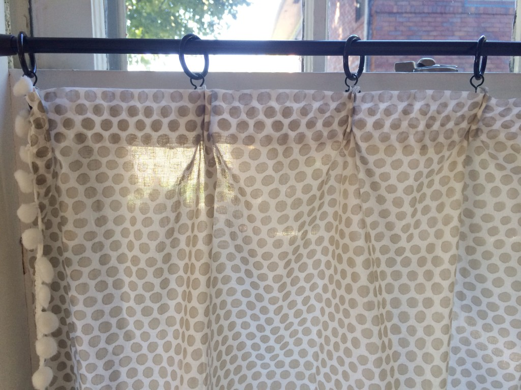 Cafe curtains diy