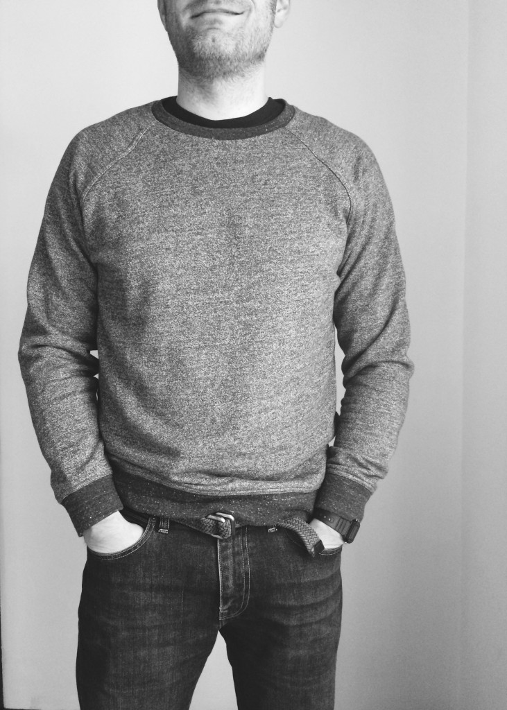 Everlane men's crew sweatshirt