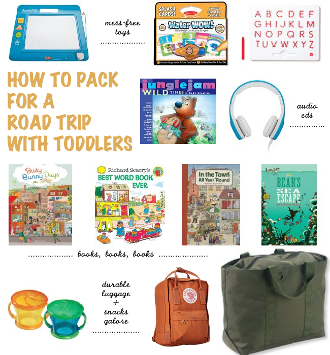 how to pack for a road trip with kids lindsey kubly