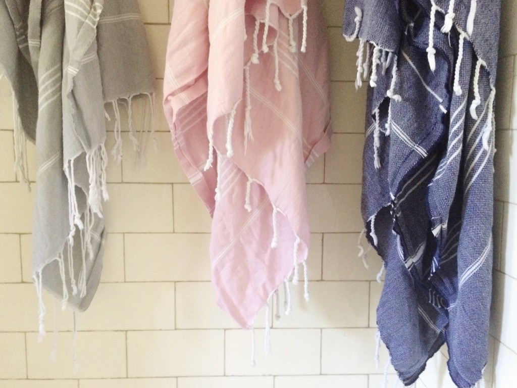 our switch to turkish towels!
