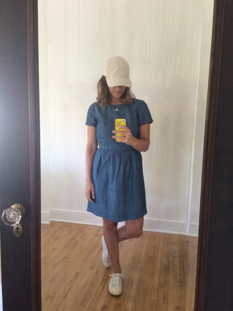 dressing down a dress | Lindsey Kubly Blog