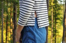Everlane Boxy Striped Tee Review