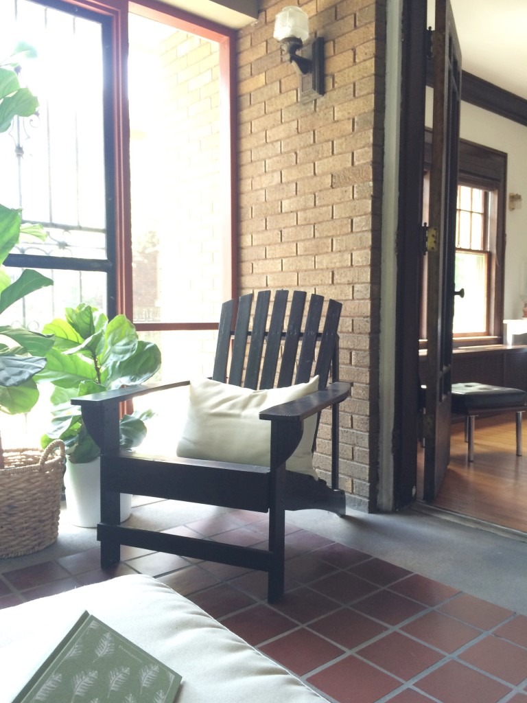 the screened porch | Lindsey Kubly Blog