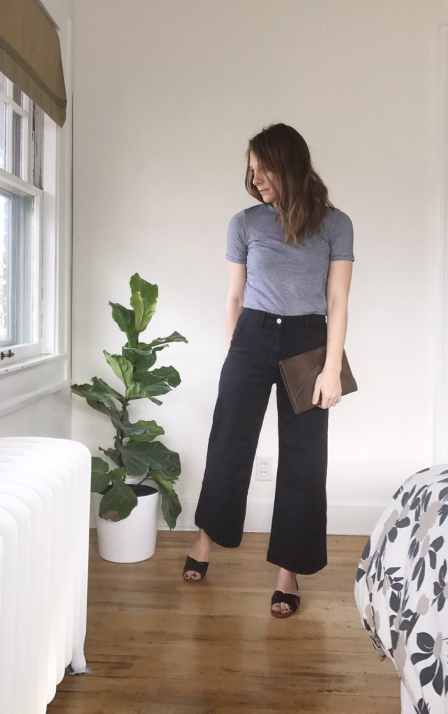 ae0d1b72db26 How to Style Wide Leg Crops | Lindsey Kubly