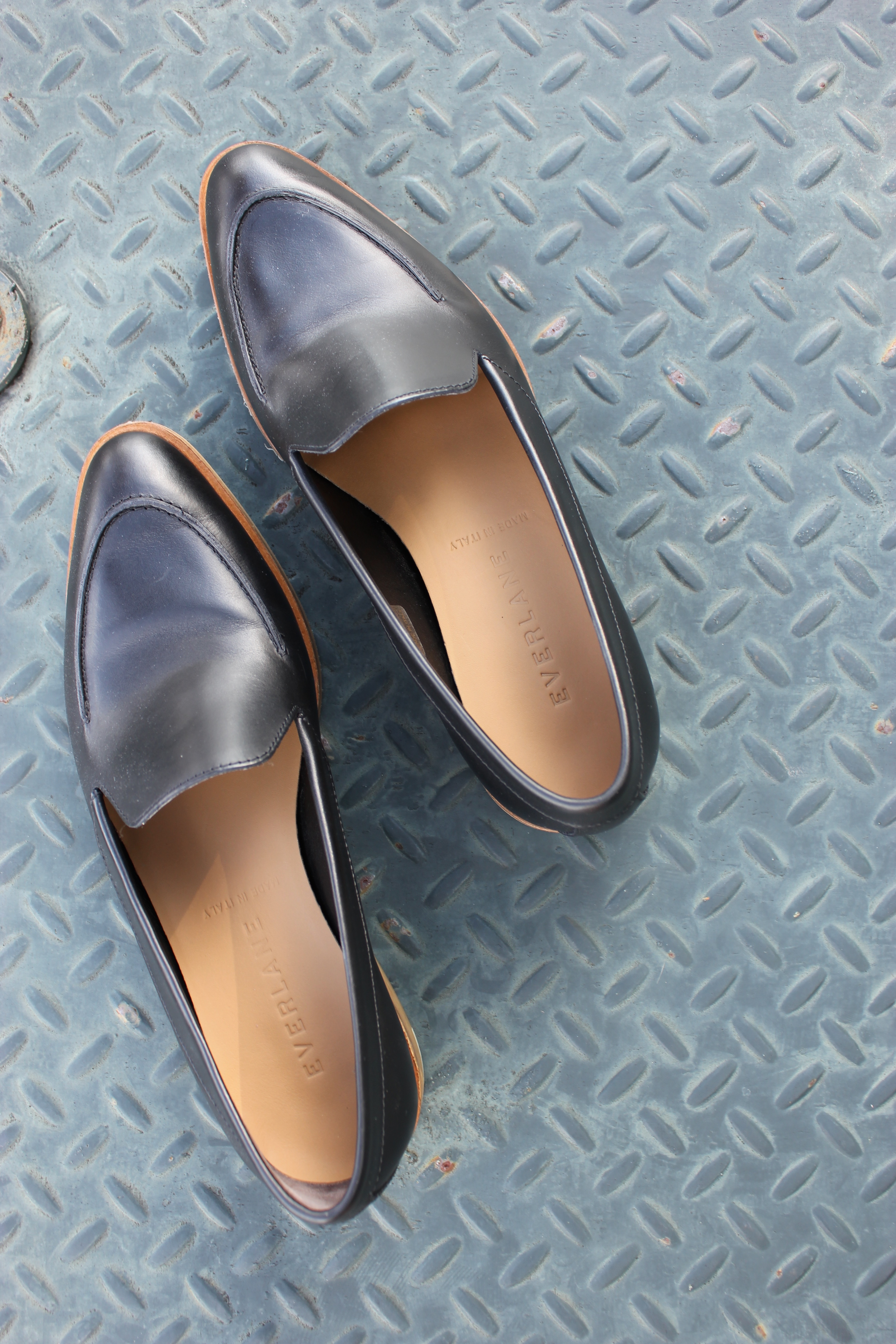 review / Everlane modern loafers